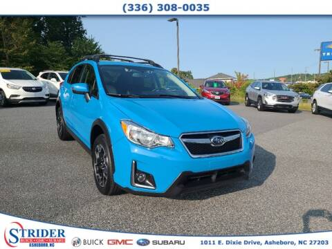 2016 Subaru Crosstrek for sale at STRIDER BUICK GMC SUBARU in Asheboro NC