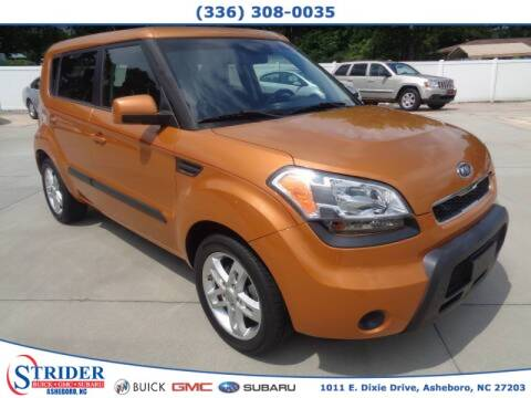 2011 Kia Soul for sale at STRIDER BUICK GMC SUBARU in Asheboro NC