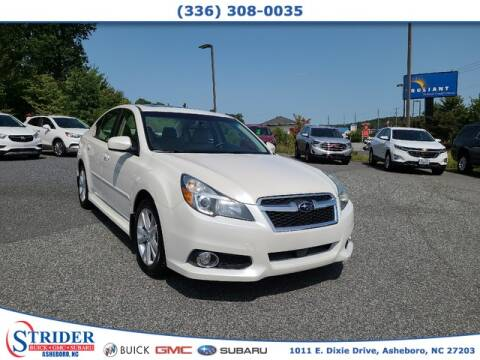 2013 Subaru Legacy for sale at STRIDER BUICK GMC SUBARU in Asheboro NC