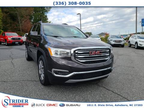 2019 GMC Acadia for sale at STRIDER BUICK GMC SUBARU in Asheboro NC
