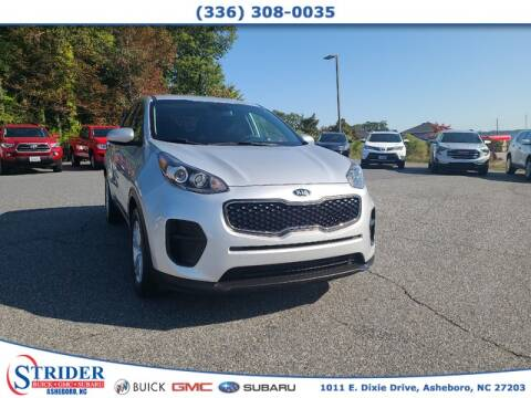 2017 Kia Sportage for sale at STRIDER BUICK GMC SUBARU in Asheboro NC