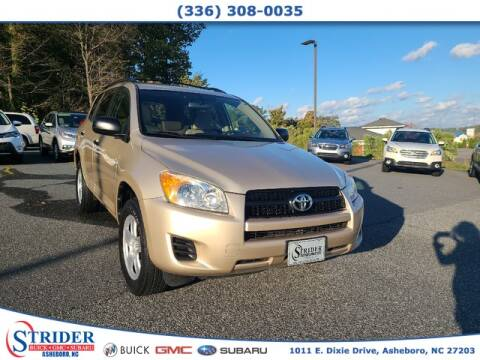 2010 Toyota RAV4 for sale at STRIDER BUICK GMC SUBARU in Asheboro NC