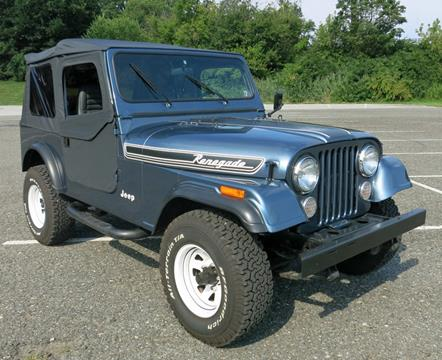 1986 Jeep CJ-7 for sale in West Chester, PA