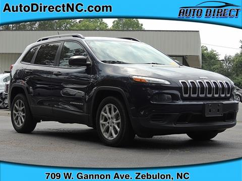 2016 Jeep Cherokee for sale in Zebulon, NC