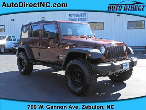 2010 Jeep Wrangler Unlimited for sale in Zebulon, NC