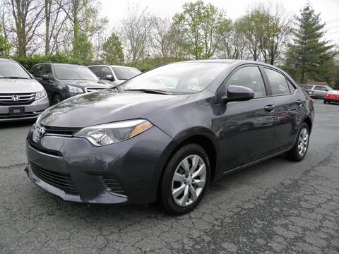 2016 Toyota Corolla for sale at Dream Auto Group in Dumfries VA