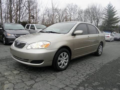2007 Toyota Corolla for sale at Dream Auto Group in Dumfries VA
