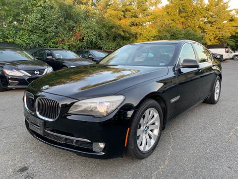 2011 BMW 7 Series for sale at Dream Auto Group in Dumfries VA