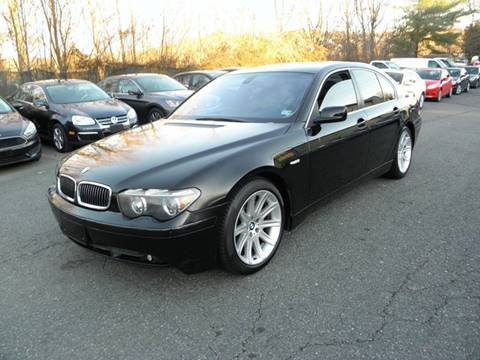 2004 BMW 7 Series for sale at Dream Auto Group in Dumfries VA
