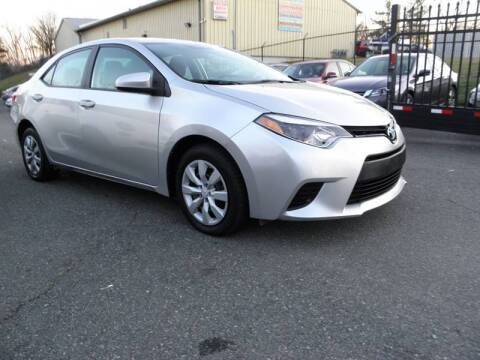 2014 Toyota Corolla for sale at Dream Auto Group in Dumfries VA