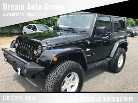 2010 Jeep Wrangler for sale at Dream Auto Group in Dumfries VA