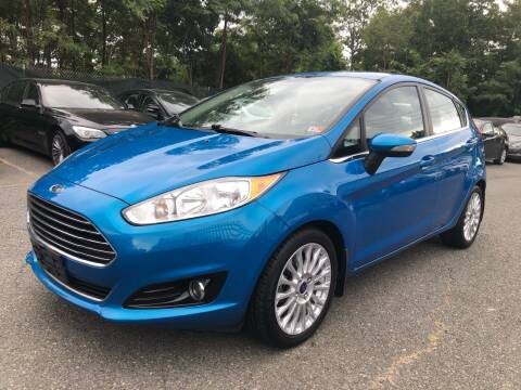 2014 Ford Fiesta for sale at Dream Auto Group in Dumfries VA