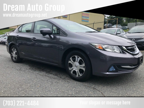 2015 Honda Civic for sale at Dream Auto Group in Dumfries VA