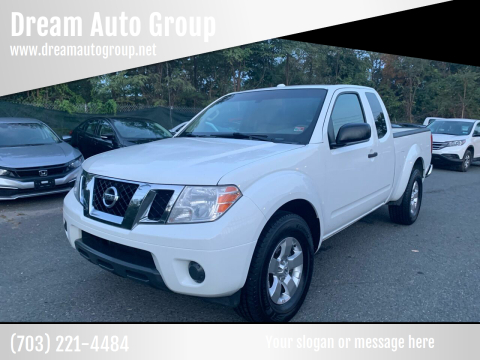 2013 Nissan Frontier for sale at Dream Auto Group in Dumfries VA