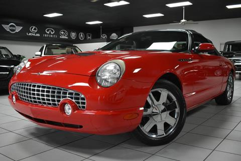 2002 Ford Thunderbird for sale in Tampa, FL