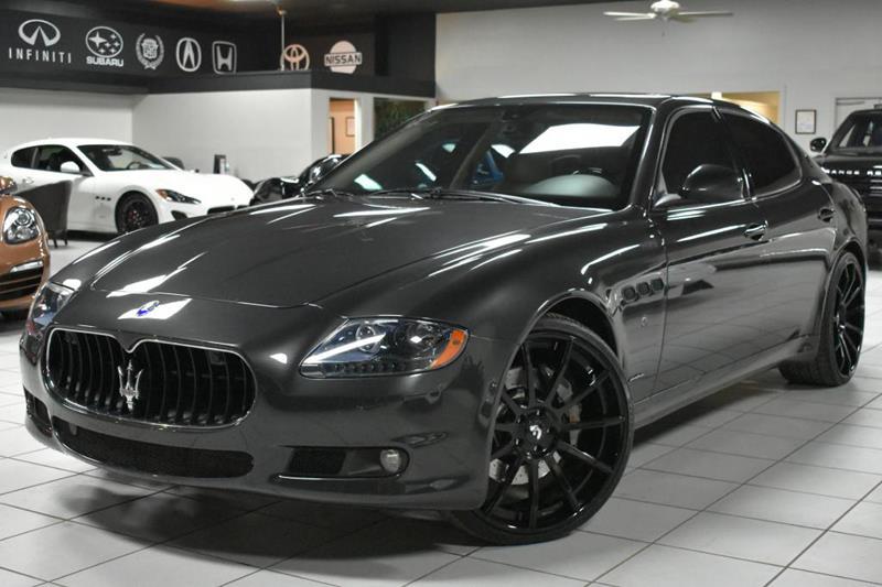 2012 Maserati Quattroporte S 4dr Sedan In Tampa FL - Discovery Auto