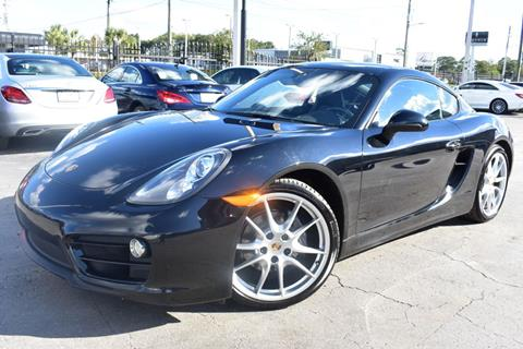 2014 Porsche Cayman for sale in Tampa, FL