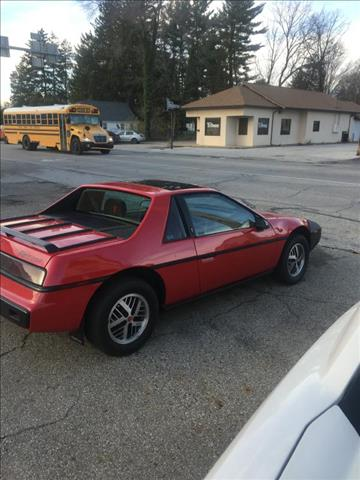 1984 Pontiac Fiero for sale in Plymouth, IN
