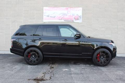 2014 Land Rover Range Rover for sale at MOTORCARS OF DISTINCTION INC in West Palm Beach FL