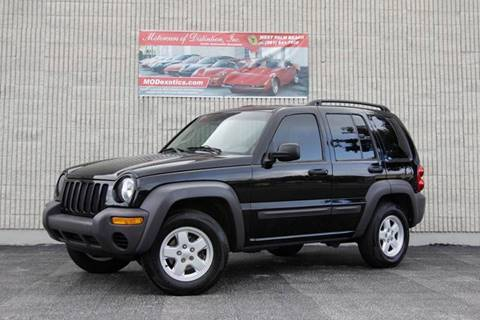 2004 Jeep Liberty for sale at MOTORCARS OF DISTINCTION INC in West Palm Beach FL