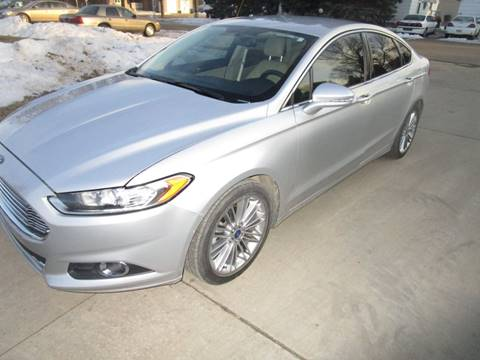 2013 Ford Fusion for sale at DK Auto in Centerville SD
