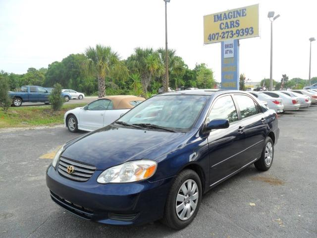 2003 Toyota Corolla for sale at IMAGINE CARS and MOTORCYCLES in Orlando FL