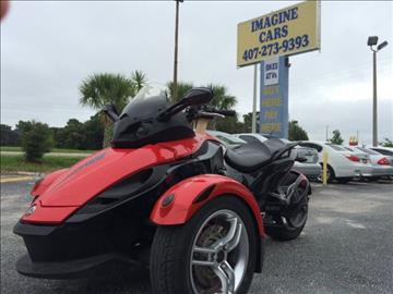 2009 Can-Am SE5 for sale at IMAGINE CARS and MOTORCYCLES in Orlando FL