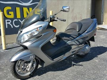2009 Suzuki Burgman 400 for sale at IMAGINE CARS and MOTORCYCLES in Orlando FL