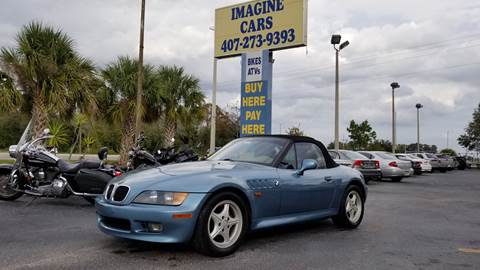 1997 BMW Z3 1.9 for sale at IMAGINE CARS and MOTORCYCLES in Orlando FL