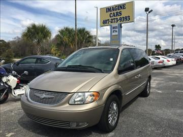 2002 Chrysler Town and Country for sale in Orlando, FL