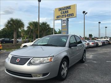 2007 Saturn Ion for sale at IMAGINE CARS and MOTORCYCLES in Orlando FL