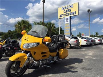 2005 Honda Goldwing for sale at IMAGINE CARS and MOTORCYCLES in Orlando FL