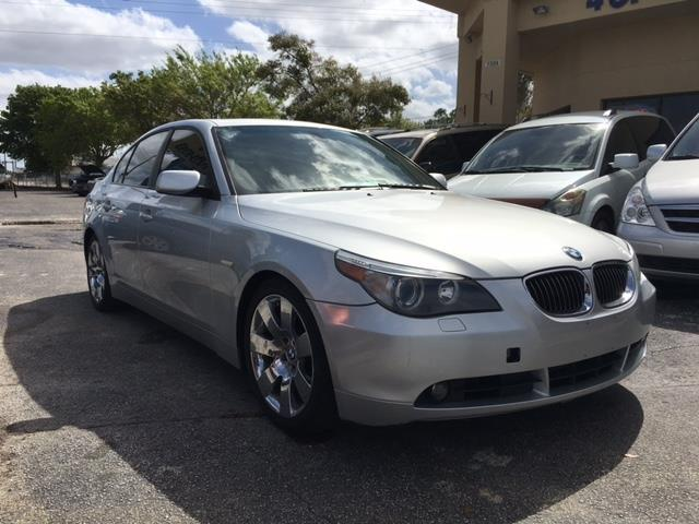 2007 bmw 5 series 530i 4dr sedan in orlando fl - imagine cars and