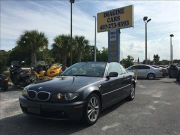 2006 BMW 3 Series 330Ci for sale at IMAGINE CARS and MOTORCYCLES in Orlando FL