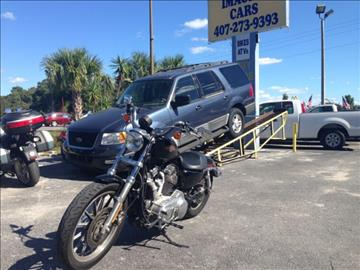 2009 Harley-Davidson xl883l for sale at IMAGINE CARS and MOTORCYCLES in Orlando FL