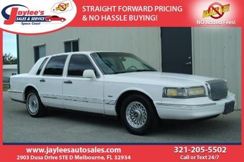 1995 Lincoln Town Car For Sale In Wichita Ks Carsforsale Com