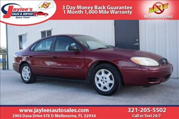 2004 Ford Taurus for sale in Melbourne, FL