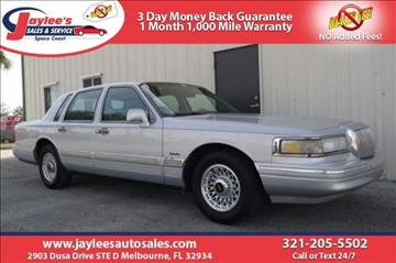 1997 Lincoln Town Car for sale in Melbourne, FL