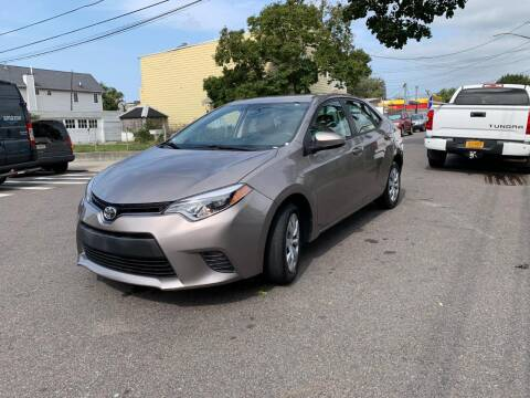 2016 Toyota Corolla for sale at Kapos Auto, Inc. in Ridgewood, Queens NY