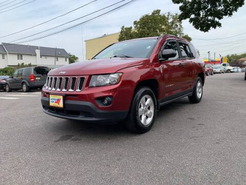 2014 Jeep Compass for sale at Kapos Auto, Inc. in Ridgewood, Queens NY