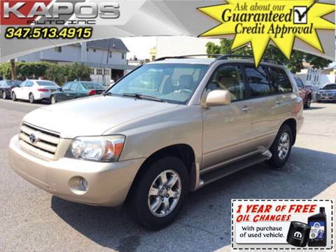 2005 Toyota Highlander for sale at Kapos Auto, Inc. in Ridgewood, Queens NY