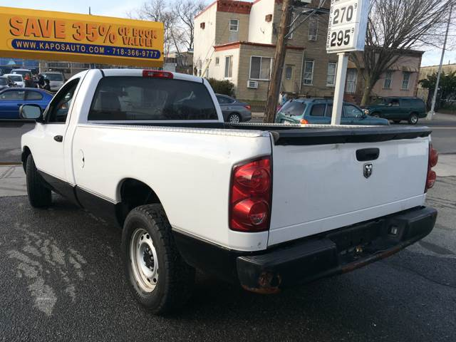 2008 Dodge Ram Pickup 1500 ST 2dr Regular Cab LB - Ridgewood NY