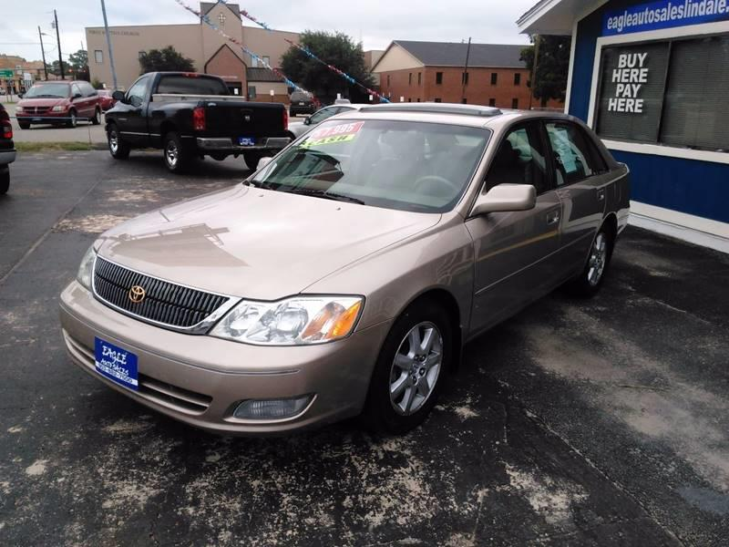2002 Toyota Avalon for sale at EAGLE AUTO SALES in Lindale TX