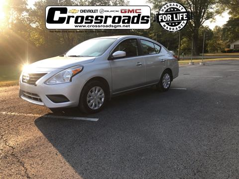 2018 Nissan Versa for sale in Corinth, MS
