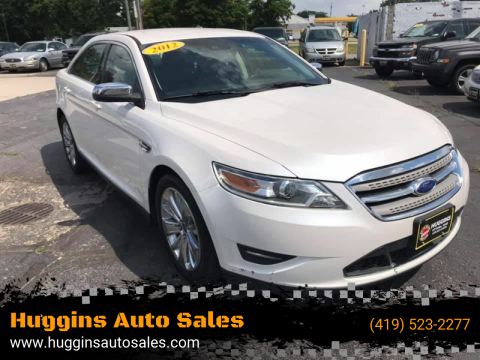 2012 Ford Taurus for sale at Huggins Auto Sales in Ottawa OH