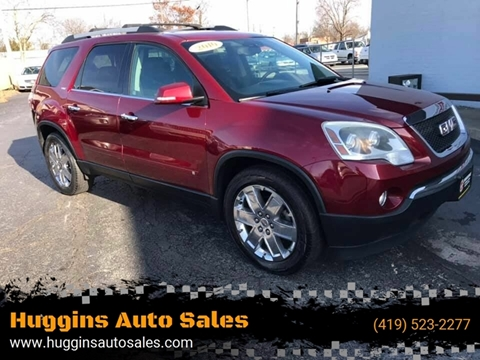 2010 GMC Acadia for sale at Huggins Auto Sales in Ottawa OH