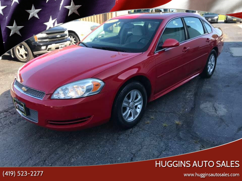 2013 Chevrolet Impala for sale at Huggins Auto Sales in Ottawa OH