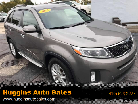 2015 Kia Sorento for sale at Huggins Auto Sales in Ottawa OH