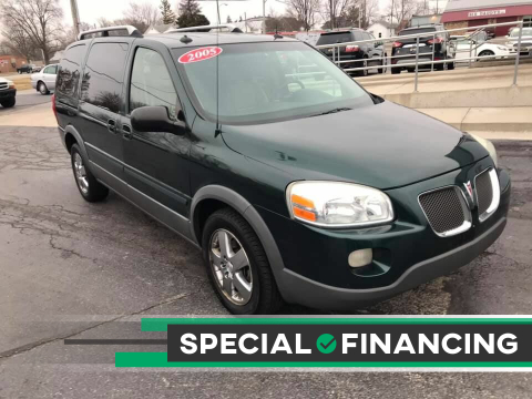 2005 Pontiac Montana SV6 for sale at Huggins Auto Sales in Ottawa OH