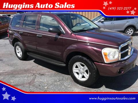 2005 Dodge Durango for sale at Huggins Auto Sales in Ottawa OH